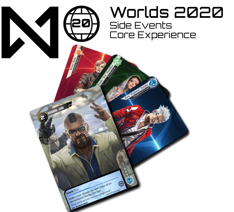 The prizes for the Worlds 2020 Core Experience Side Events