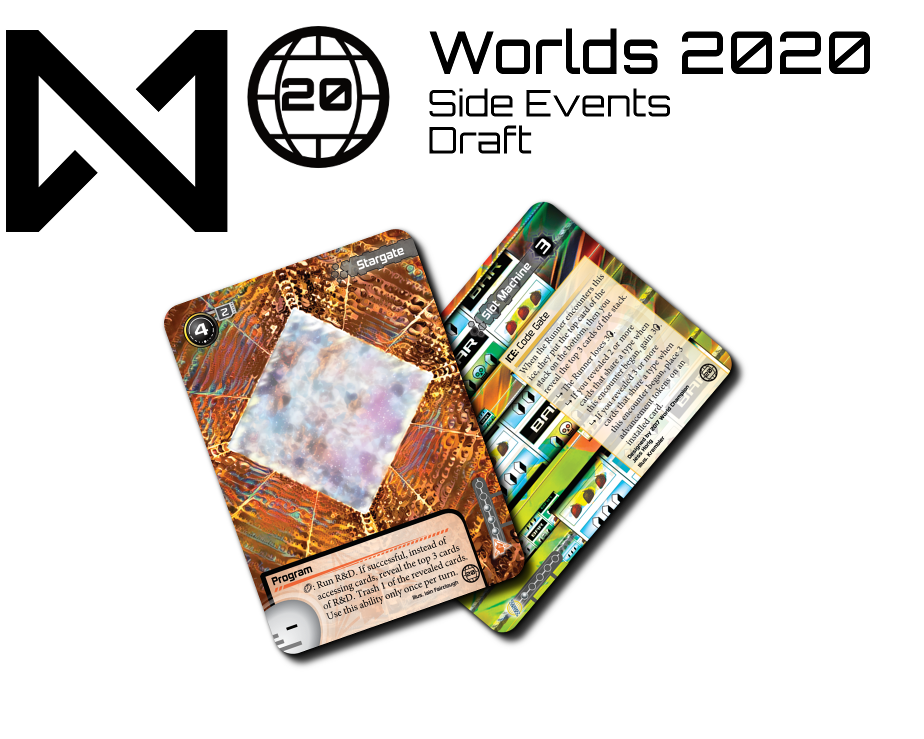 The prizes for the Worlds 2020 Draft Side Events