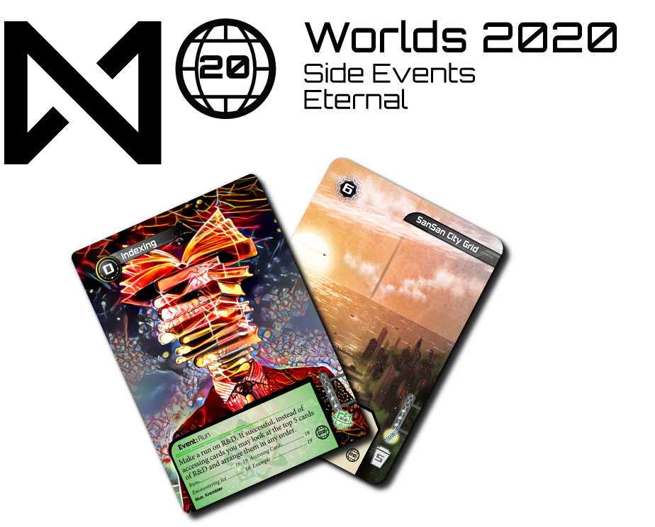The prizes for the Worlds 2020 Eternal Side Events
