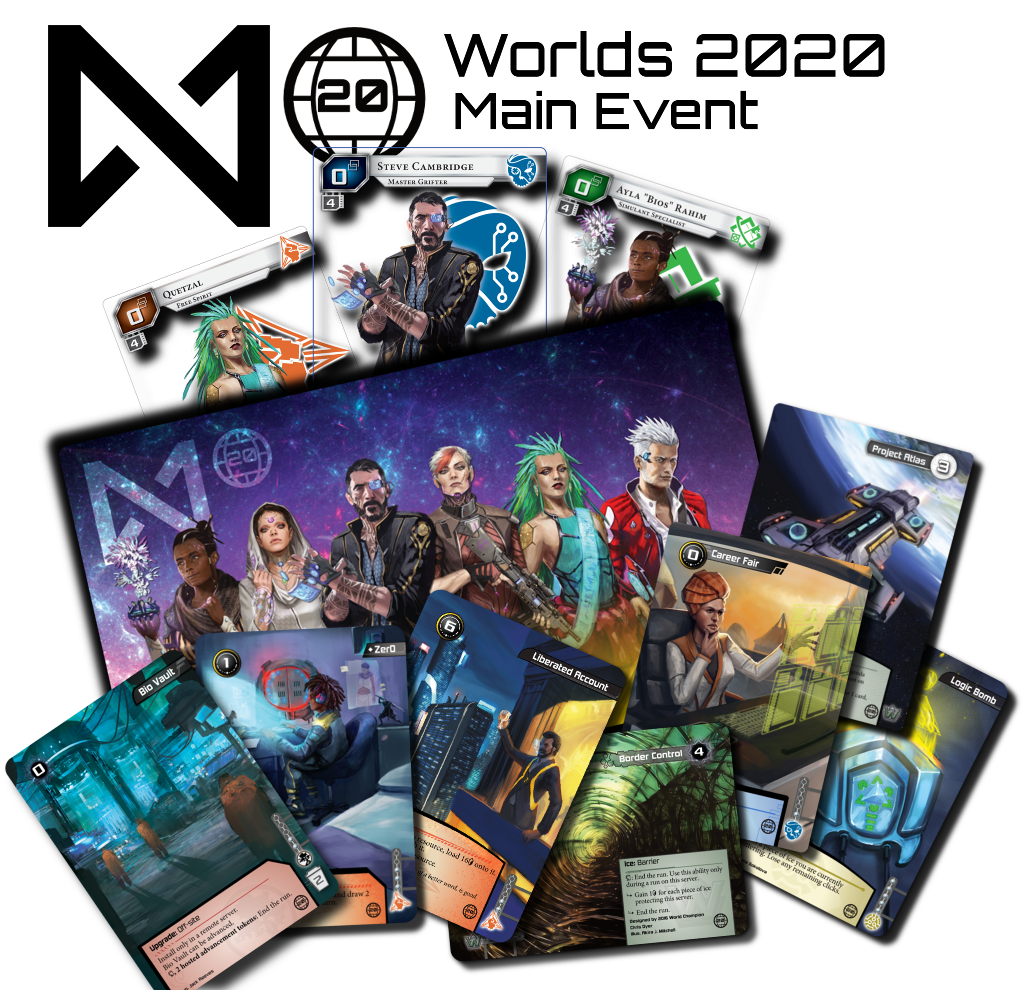 An arrangement of prizes for the Worlds 2020 main event.