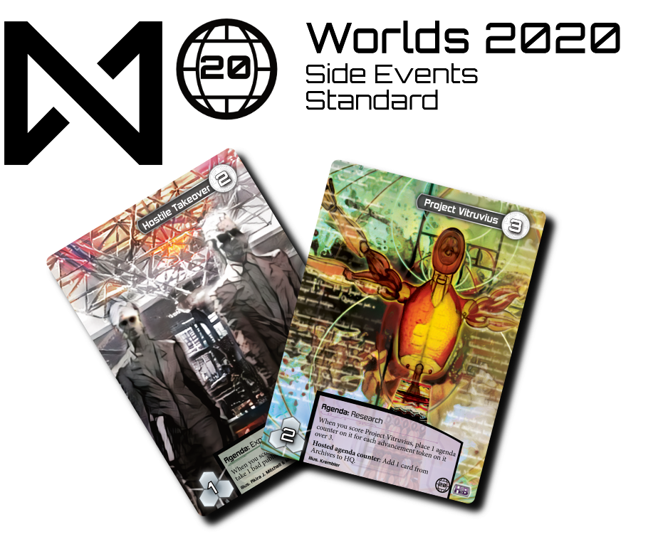 The prizes for the Worlds 2020 Standard Side Events